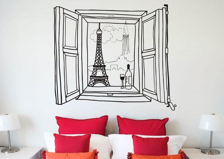Decoración Low Cost: Coge un rotulador y a decorar la pared         http://www.icono-interiorismo.blogspot.com.es/2014/04/decoracion-low-cost-coge-un-rotulador-y.html#more
