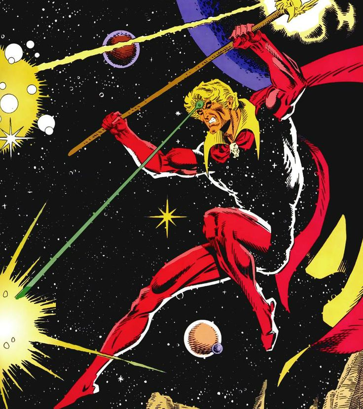 Adam Warlock by Jim Starling