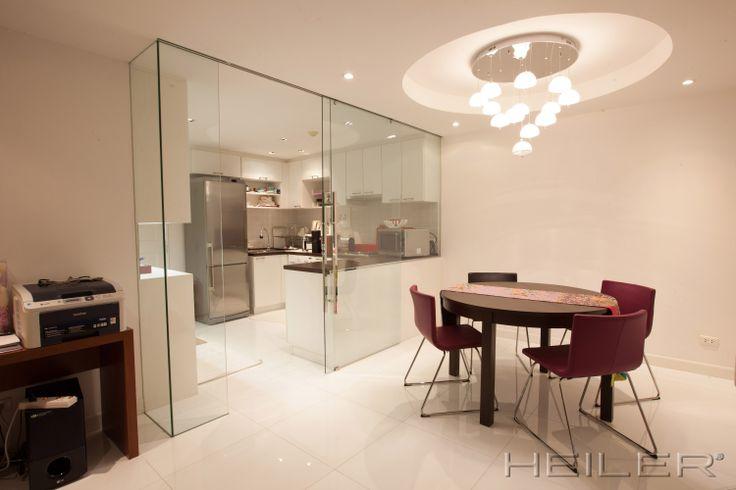 HEILER Raumteiler aus Glas