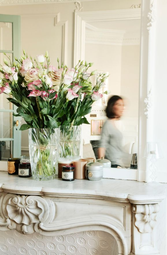 Beautiful More Interior Inspiration On Www.ringthebelle.com Home / Interior / Fleurs  / Mirror
