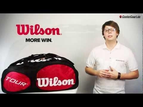 Wilson Tour Duffle Bag - Die Tour Duffle Bag bietet genug Platz, um alles zu verstauen was ein guter Spieler auf dem Platz benötigt. Ausgestattet mit einem großen Hauptfach, einem seitlichen Racketfach für 2 Schläger und 2 weiteren Accessoires-Fächern ist die Tasche ein wahrer Alleskönner.    http://www.centercourt.de/Tennistaschen/Turniertaschen/Wilson-Tour-Duffle-Bag-red/white.html