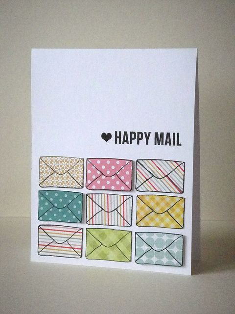 Too cute, love the pretty papers! Happy Mail   Flickr - Photo Sharing!