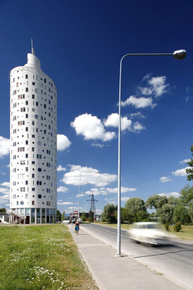 Snailtower / Künnapu & Padrik Architects: Tartu, Estonia