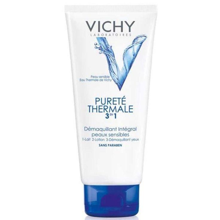 Vichy Purete Thermale 3 ü 1 Arada Süt 200ml Cilt ve Göz Makyaj Temizleyici | Cilt Ürünleri | Cilt Bakım | Natural Eczane Purete Thermale Temizleyici süt + losyon + göz makyaj temizleyicisi'ni tek üründe birleştirir