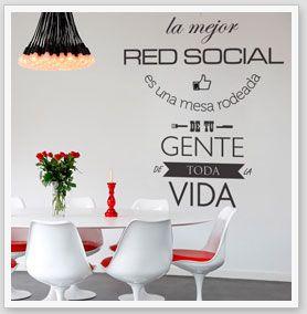 15 best Vinilos Adhesivos Comedor images on Pinterest | Vinyls ...