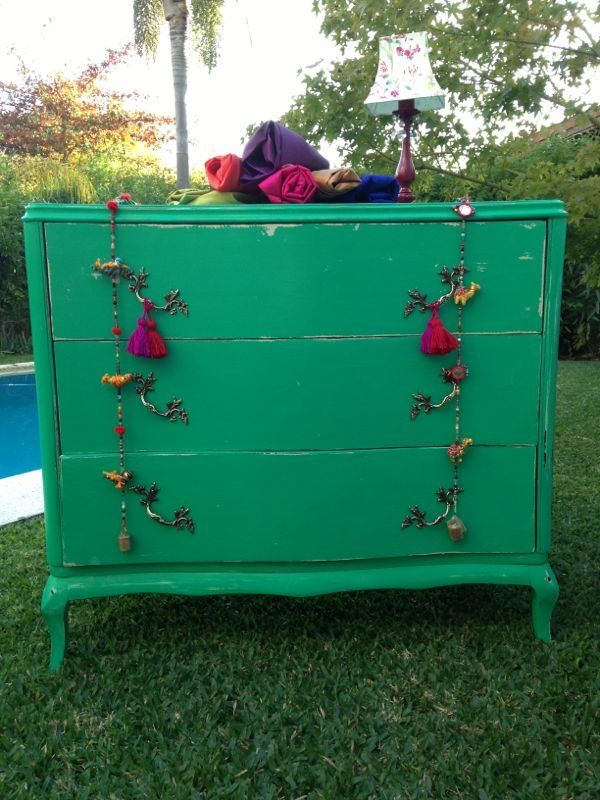 Decora muebles retro muebles restaurados pinterest retro for Muebles vintage restaurados