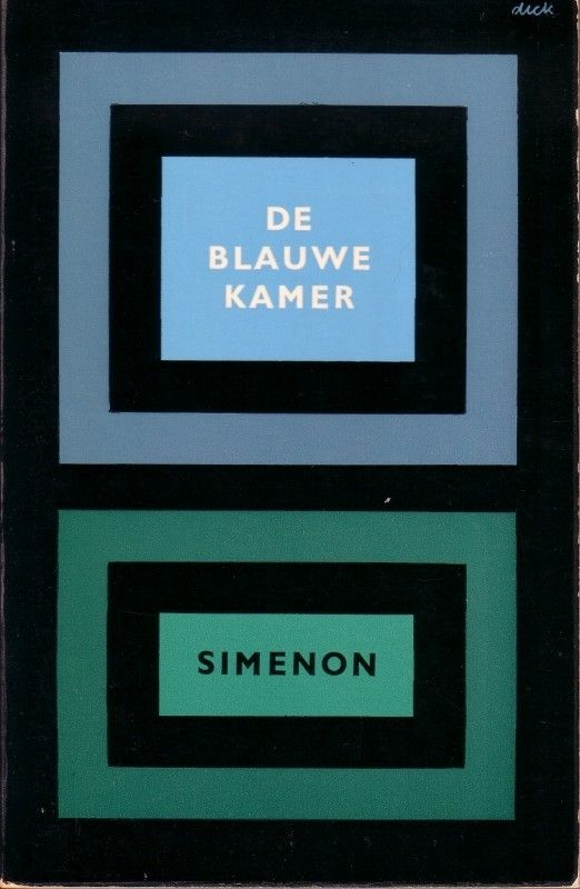 [791: Simenon: De blauwe kamer, La chambree bleue, 1963