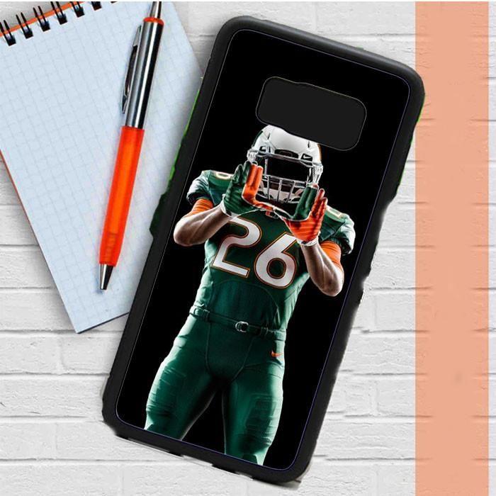 Um Miami Hurricanes Football Samsung Galaxy S8 Plus Case Dewantary