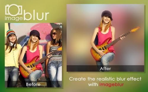Скачать бесплатно Blur Image Background - Размытый фон для планшета Андроид