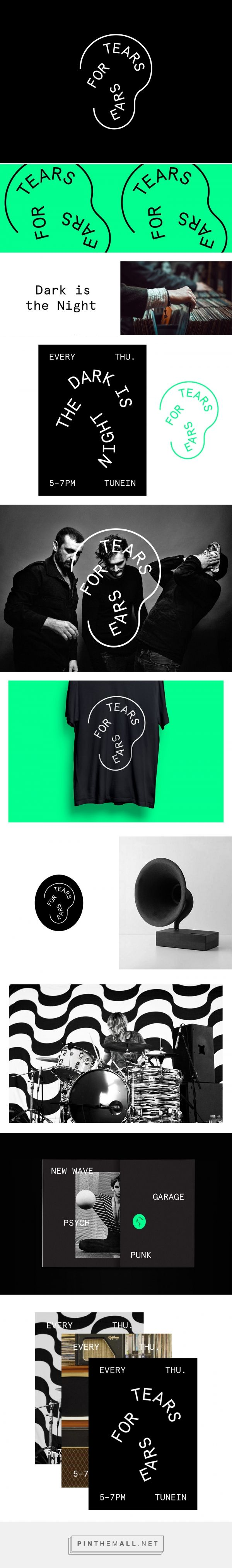 Tears for Ears – Radio Show Identity on Behance... - a grouped images picture - Pin Them All