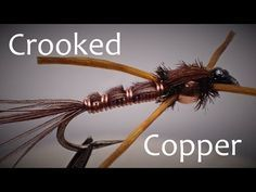 Crooked Copper Attractor Nymph Fly Pattern Step by Step - YouTube