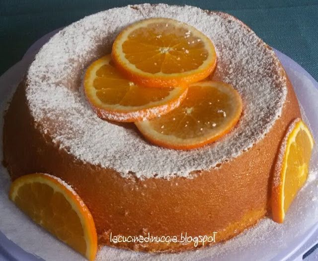 La cucina di Nuccia: Torta all'arancia e mandorle senza farina