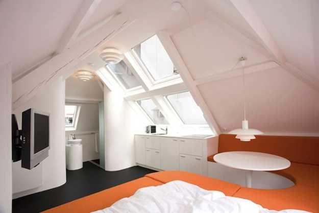 small attic apartment ideas