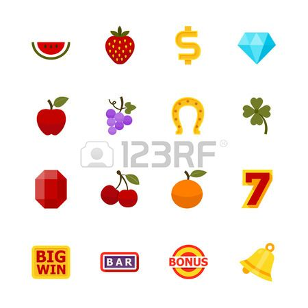 Slot Machine Icons Royalty Free Cliparts, Vectors, And Stock Illustration. Image 28641618.