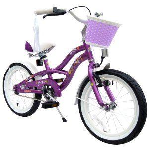 puky kinderfahrrad: bike*star 40.6cm (16 Zoll) Kinder-Fahrrad Cruiser - Lila Sonderkonditionen