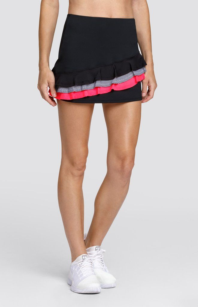 Sariyah Skort Onyx Black 13 5 Length With Images Tail Activewear Active Wear For Women Womens Tennis Fashion