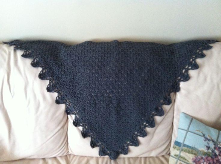 #crochet #handmade #shawl