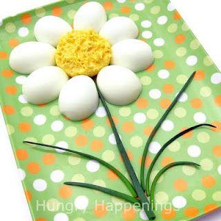 easter Deviled Egg Daisy
