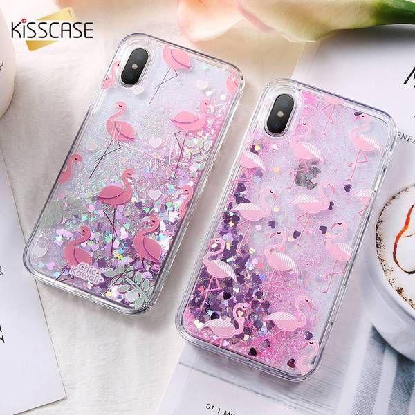 3D liquid case For iphone X /8 / 7 plus