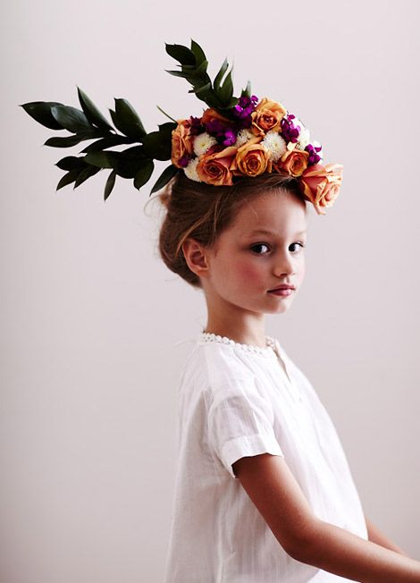 by photographer Chaunté Vaughn: Floral Headpiece, Chaunté Vaughn, Hair, Flowergirl, Flower Girls, Kid