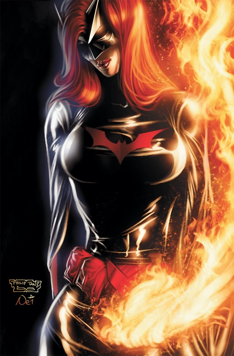 """Batwoman , bust out that Alicia Key's """"This Girl is on Fiyah!"""""""