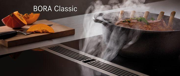Bora Classic, table de cuisson avec hotte aspirante intégrée