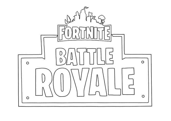 Fortnite Logo Coloring Pages Coloring Pages Coloring Pages For Boys Fortnite