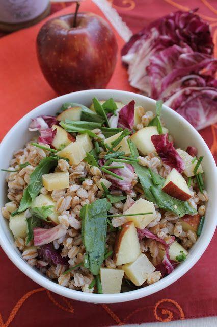 La Trappola Golosa  : Insalata di farro con pecorino e mela al pesto di ...