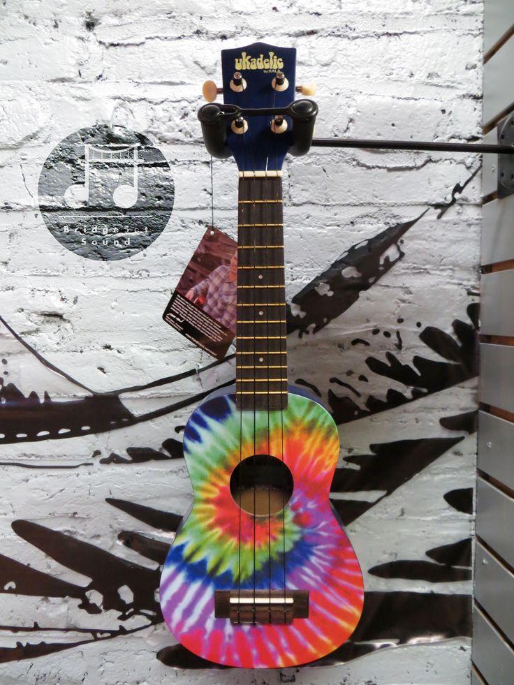 #tiedie #ukulele aweeeeeesome looking uke! $59.99 w free shipping from yours truly!