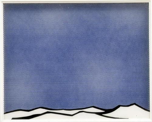 // roy lichtenstein: Art Docu, Landscape Series, V5Mt, Aircount Brusherfeit, Lichtenstein Landscape, 1964, Landscapes, Roy Lichtenstein, Timolvo