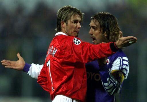 Beckham vs Batistuta