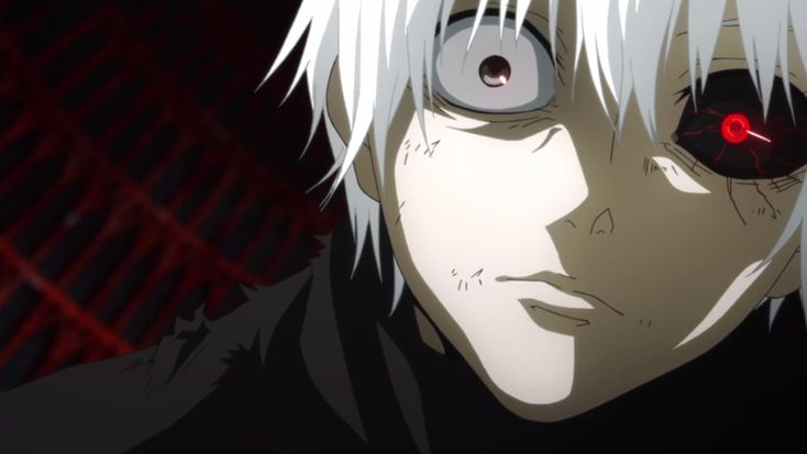 Throughout the entirety of the season Kaneki refuses to accept his ghoul side and rarely eats flesh. Description from ghiffreviews.wordpress.com. I searched for this on bing.com/images