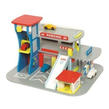 Wonderful Bring Educational Fun Into Your Childu0027s Playroom With This Charming Bigjigs  City Auto Garage Playset.