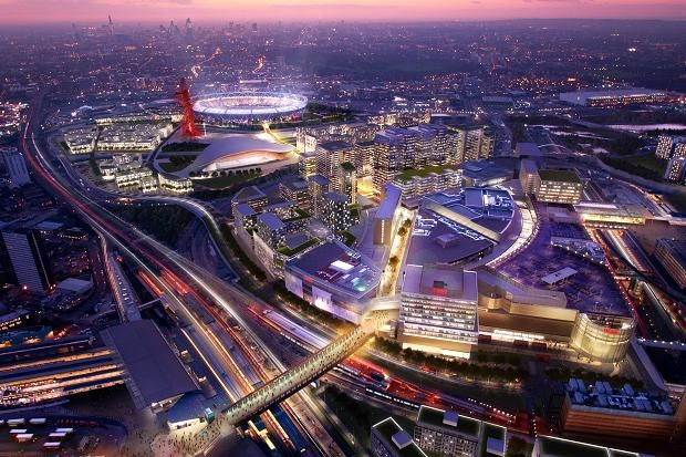 Westfield Stratford in London. 9 best destinations in London for shopping >>> http://bit.ly/1NSII2A