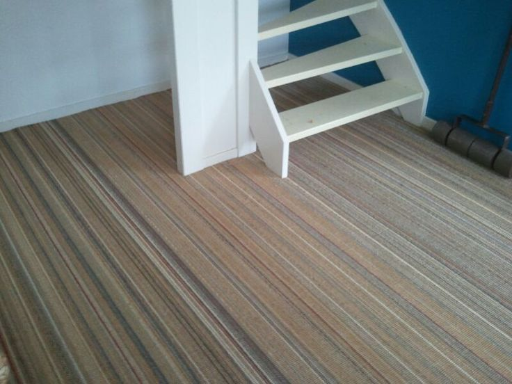 Sisal tapijt met streep motief