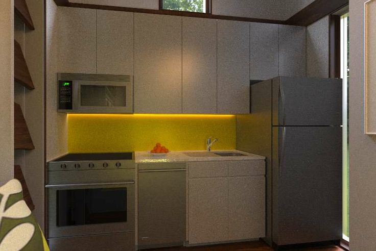 Reset House kitchen, Option 4, by http://SteveHallArchitecture.com