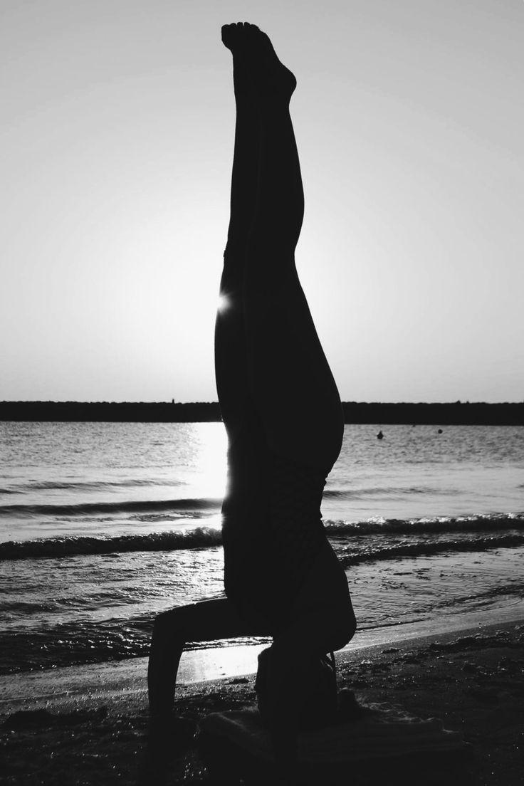 #yoga #blacksea #headstanding