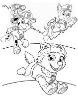 Best Paw Patrol Easter Coloring Pages Free 74 Printable Easter