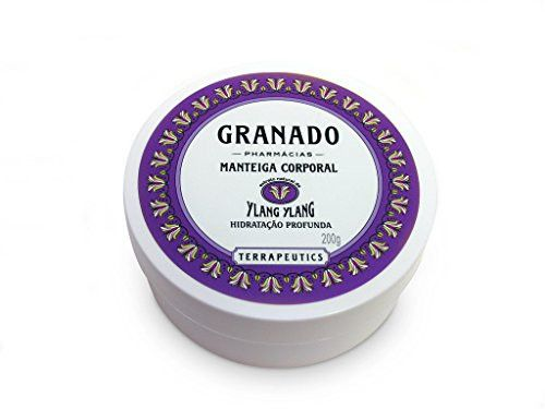 Linha Terrapeutics Granado - Manteiga Corporal Ylang Ylang 200 Gr - (Granado Terrapeutics Collection - Ylang Ylang Body Butter Net 7.1 Oz)