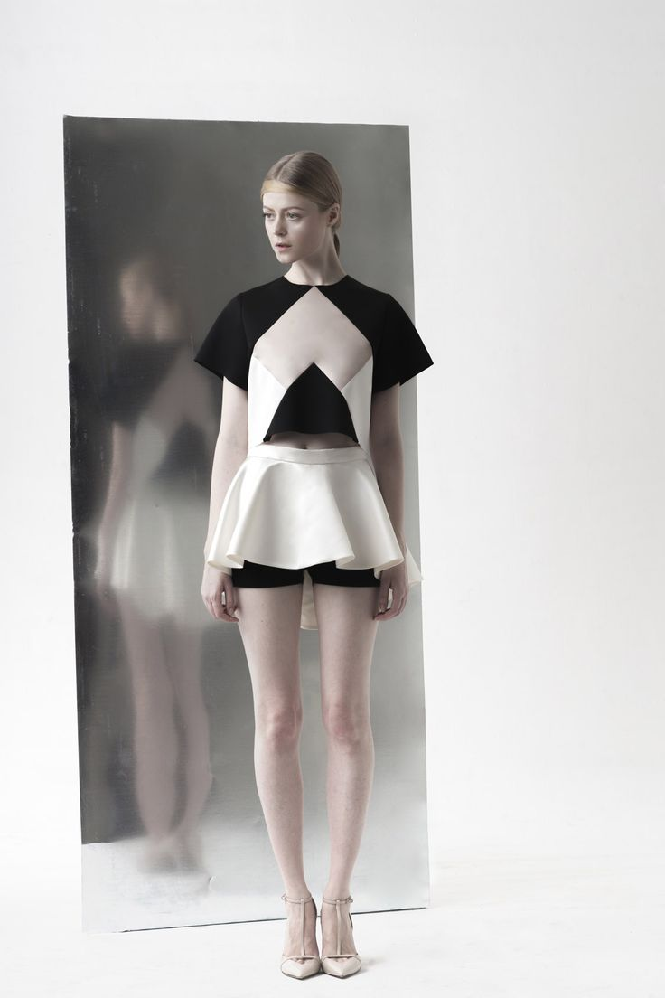 PEGGY HARTANTO SS14 'QUANTUM' - Ribose (cropped top) + Deoxy (skort)