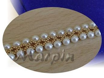 Necklace/bracelet tutorial - Fast and easy. #Seed #Bead #Tutorial