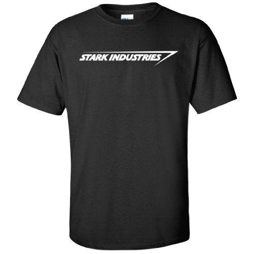 Stark Industries Iron Man T-Shirt - http://geekarmory.com/stark-industries-iron-man-graphic-t-shirts/