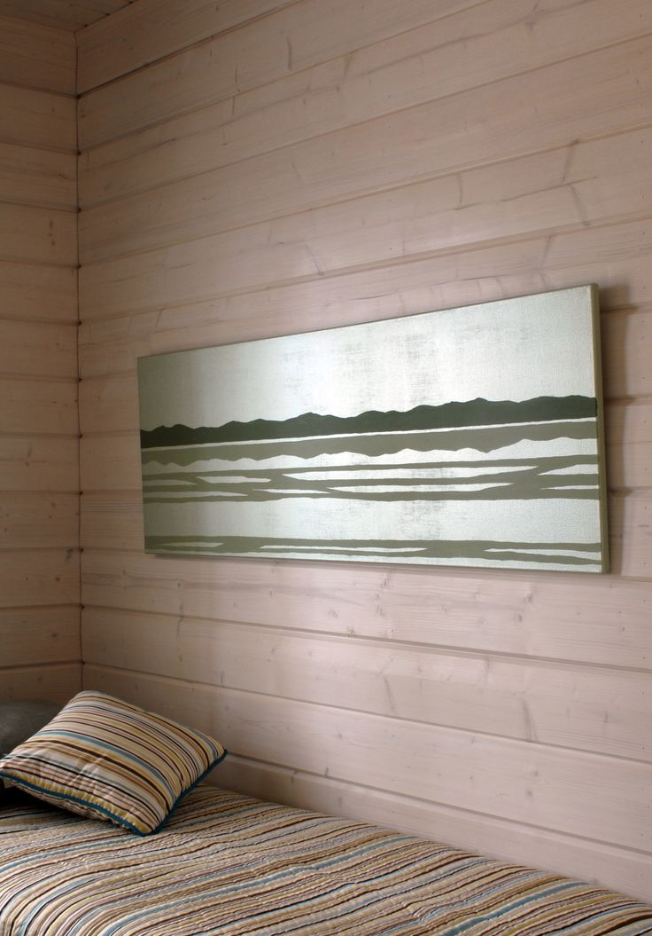Bare #wood is set to be the hottest #decor trend of 2015, #decorate and protect your #bedroom walls using Kiva lacquer by #Tikkurila. For a #colour match call Holman Specialist Paints 01793 511537