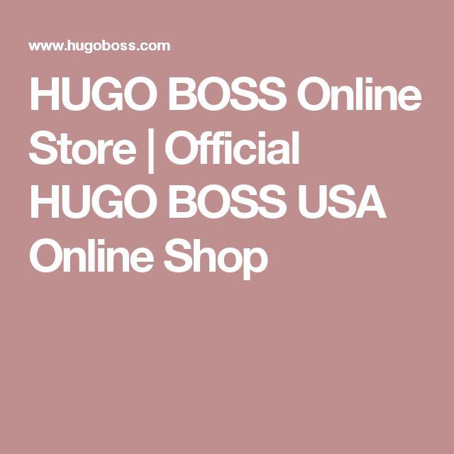 hugo boss online store usa
