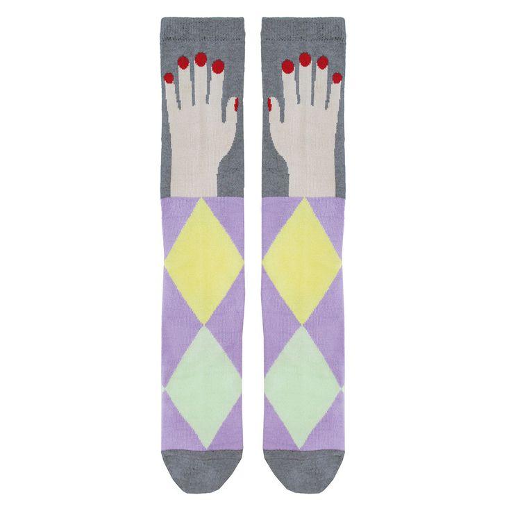 NEW ARRIVAL! - RASPBERRYPLUM - Hand Socks