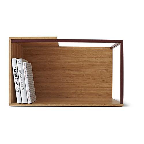 IKEA PS 2014 Aufbewahrungselement - Bambus/dunkelrot - IKEA