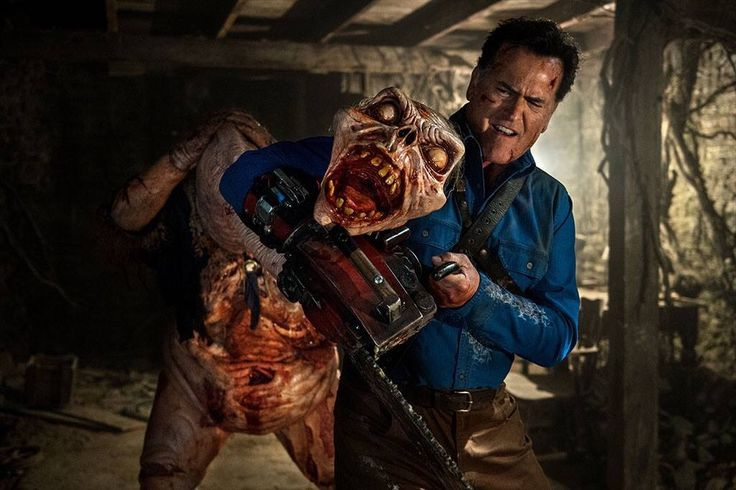 Bruce Campbell as Ash Williams in #AshVsEvilDead