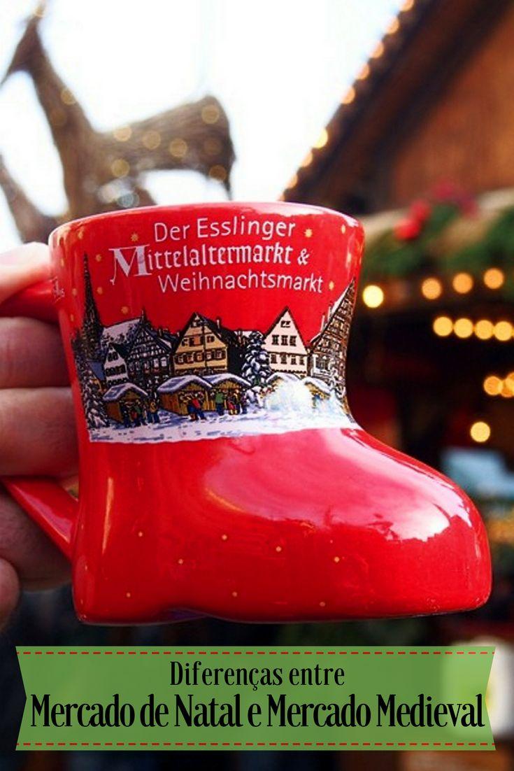 Detalhamos as diferenças entre Mercado de Natal e Mercado Medieval na Alemanha