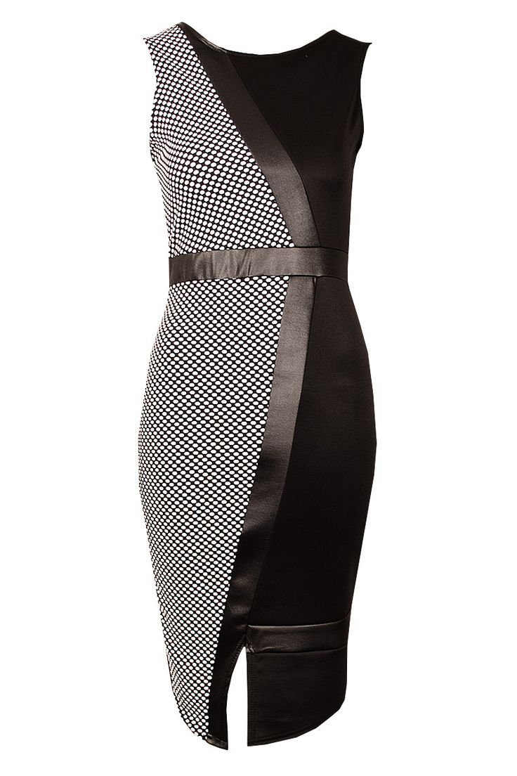 £18  http://www.fuchia.co.uk/products/clothing/dresses/adelle-black-and-white-abstract-bodycon-dress.aspx