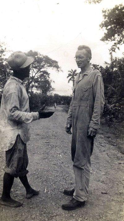 Lt. Alvin Anderson's in Panama
